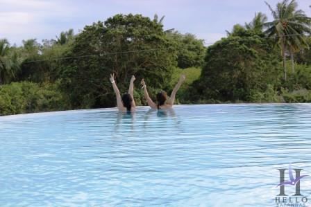 laiya infinity pool