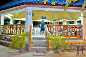 Kabayan Beach Resort restaurant