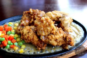 Sizzling Chicken Wings